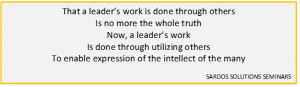 leadership-by-many-quote